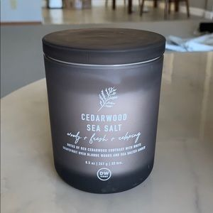 DW home cedarwood sea salt candle 8.5oz